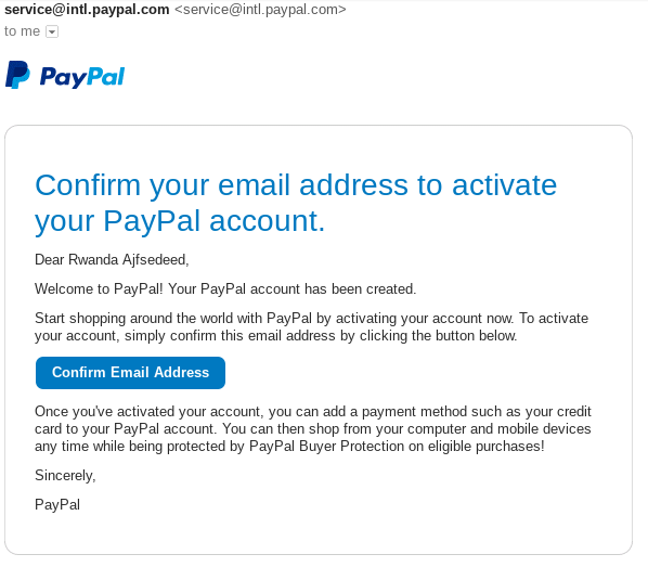 how to sign up for paypal
