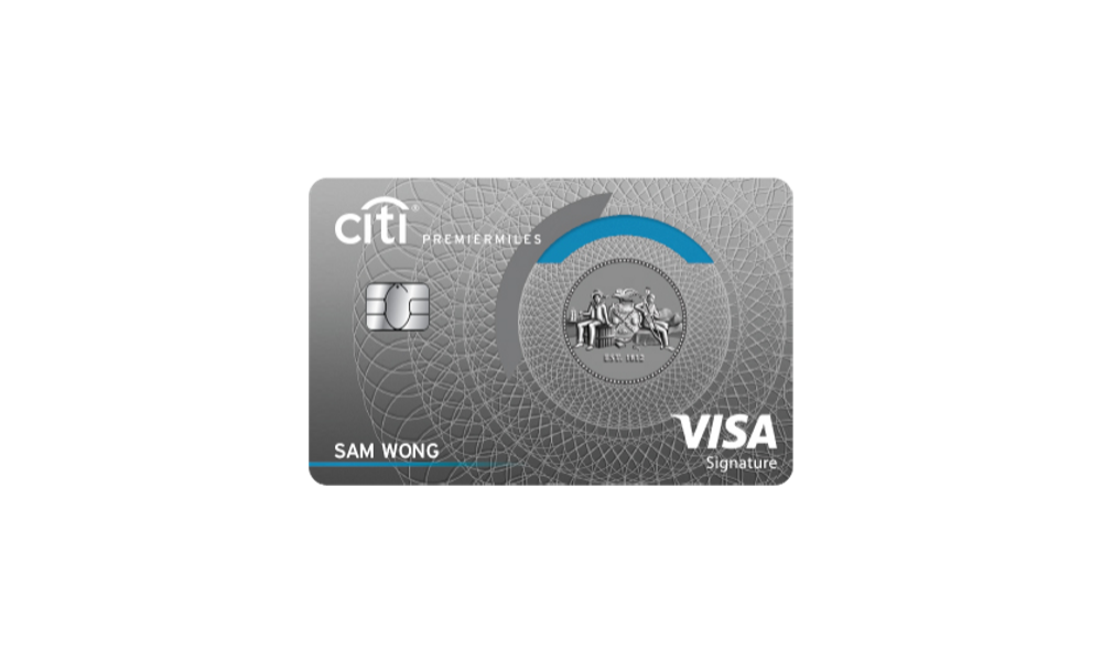 Citi PremierMiles Credit Card - How to Request Yours