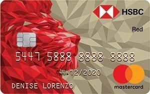 HSBC Red Mastercard