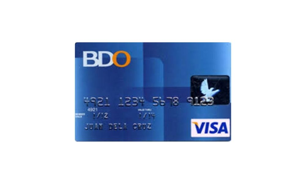 How to Get a Credit Card - BDO Visa Classic
