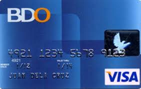 BDO Visa Classic Card