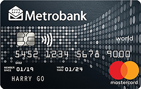 Metrobank World Mastercard – Find Out How To Apply