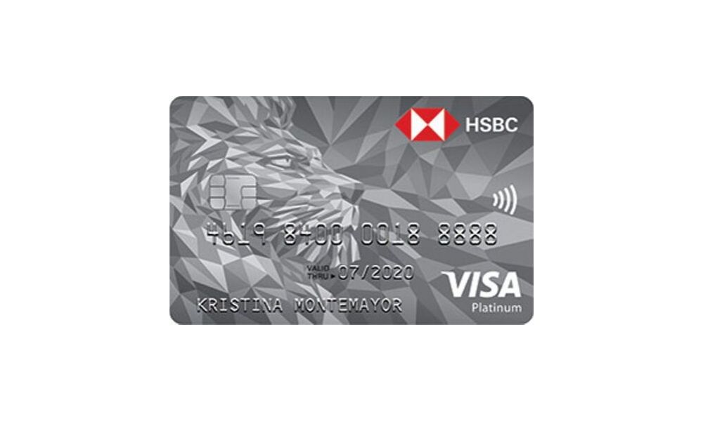 HSBC Platinum Visa Credit Card - How to Request