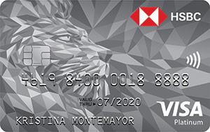HSBC Platinum Visa Credit Card - How to Request