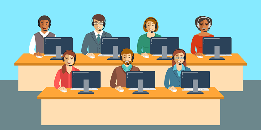 How to become a call center agent