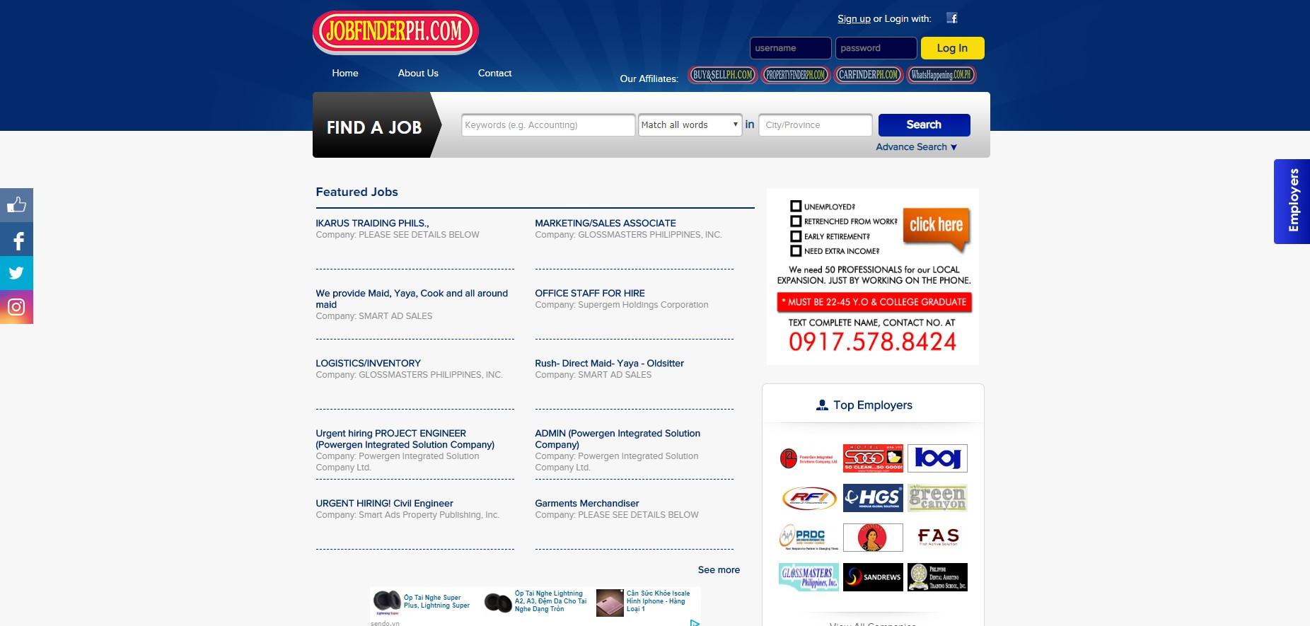 JobFinder Philippines